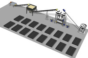 Автоматизированная линия по производству пенобетона и пеноблоков Robus